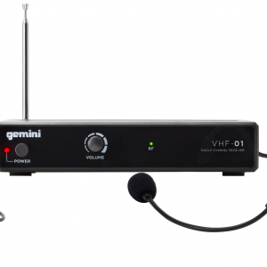 Gemini - VHF01HL Sistema Inalambrico Cintillo VHF