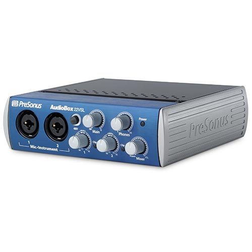 Presonus Audiobox 22 VSL – Interfaz de Audio 1