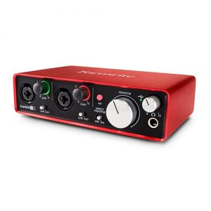 Focusrite Scarlett 2i2 MKII - Interfaz de Audio