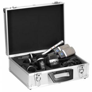 AKG Drumset Premium - Set micrófonos de batería