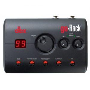 DBX GoRack - Procesador integral Portable