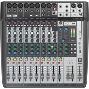 Soundcraft Signature 12 MTK- Mixer Análogo