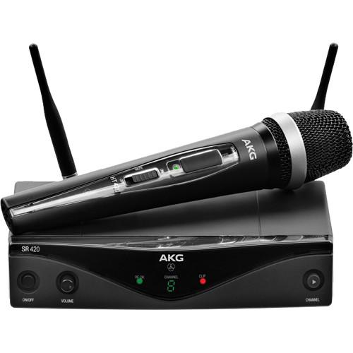 AKG WMS420VSET – Sistema Inalámbrico de Mano UHF (Set) 1