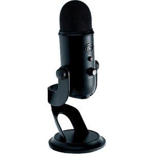 Blue Yeti Blackout- Microfono Condensador Multipatron USB