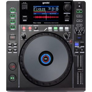 Gemini MDJ1000 - Reproductor CD/MP3 USB