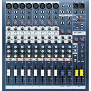 Soundcraft EPM 8 - Mixer Análogo