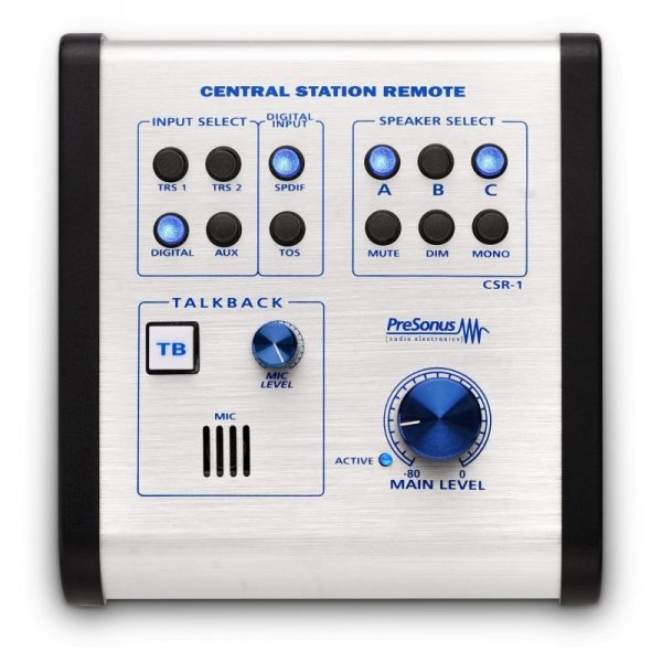 Presonus Central station Plus – Control de monitoreo 2