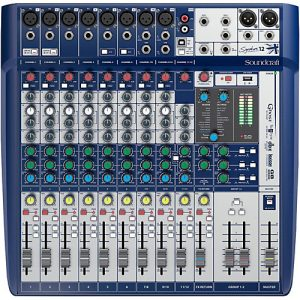 Soundcraft Signature 12 - Mixer Análogo