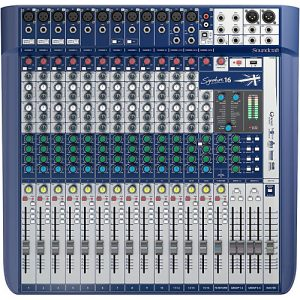 Soundcraft Signature 16 - Mixer Análogo