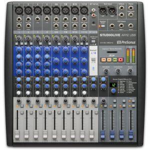 Presonus StudioLive AR12 USB - Mixer 12 Canales