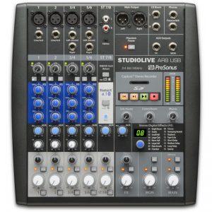 Presonus StudioLive AR8 USB - Mixer 8 Canales