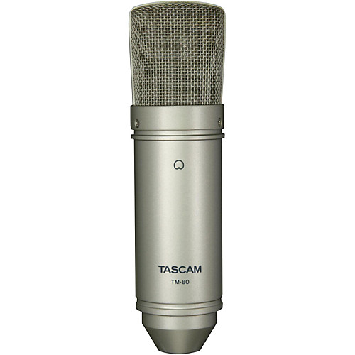 Tascam TM 80 – Micrófono Condensador 1