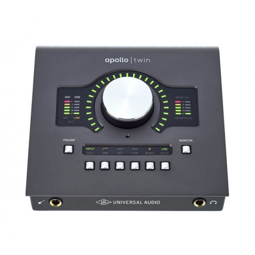 Universal Audio Apollo Twin MKII Duo Core – Interfaz de Audio 1