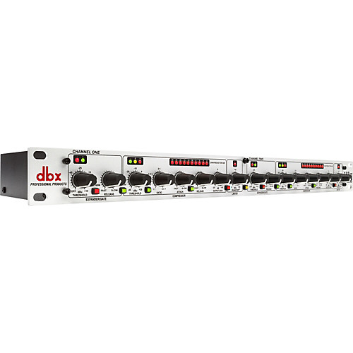 DBX 166 XS – Compresor Dual / Gate / Limitador 1