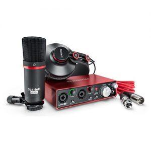 Focusrite Scarlett 2i2 Studio MKII - Pack de Grabación