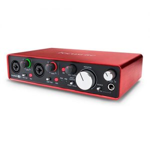Focusrite Scarlett 2i4 MK2 - Interfaz de Audio