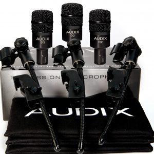 Audix D2TRIO - Set 3 Micrófonos Dinámicos