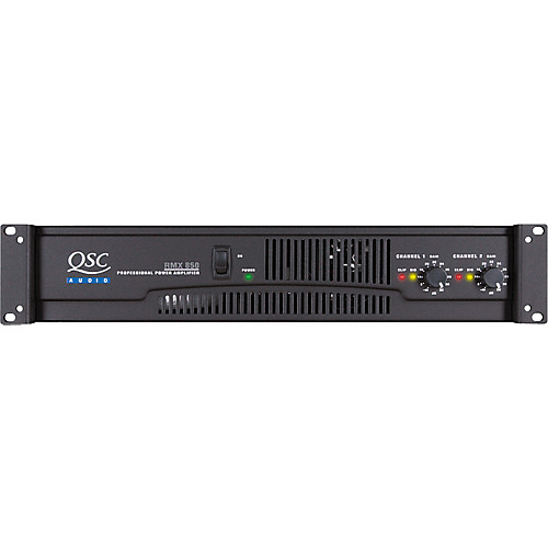 QSC RMX850 – Amplificador de potencia 1