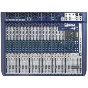 Soundcraft Signature 22 - Mixer Análogo