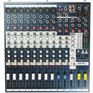 Soundcraft MFX82 - Mezclador análogo