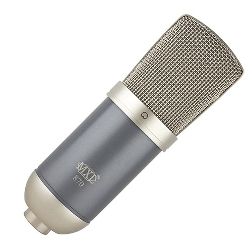 MXL 870 – Micrófono Condensador 1
