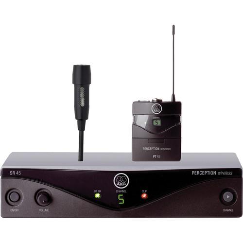 AKG PERCEPW45INSET – Sistema Inalámbrico de instrumento UHF 1
