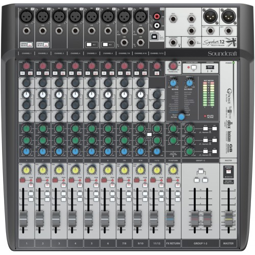 Soundcraft Signature 12 MTK- Mixer Análogo 1