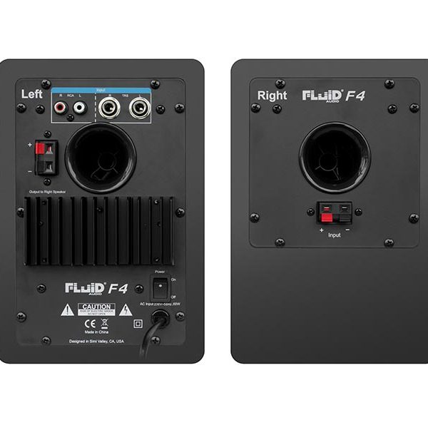 Fluid Audio F4 – Monitor de Estudio (Par) 2