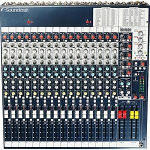 Soundcraft FX 16II - Mixer Análogo