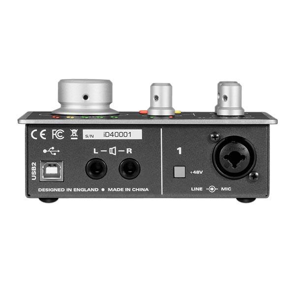 Audient iD4 – Interfaz de Audio 2