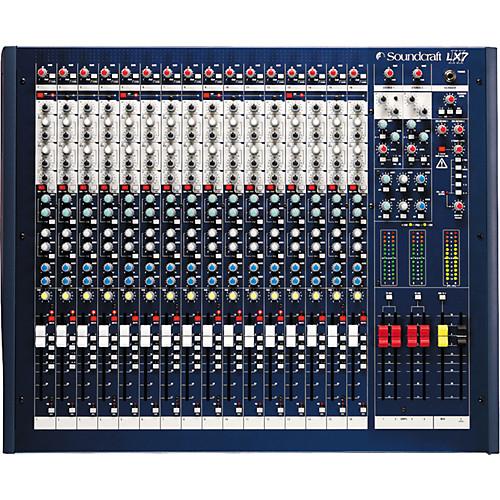 Soundcraft LX7II16 – Mixer Análogo 1