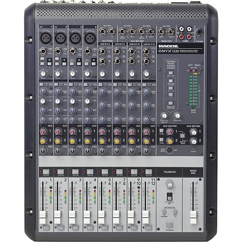 Mackie Onyx 1220 – Mixer Análogo 1