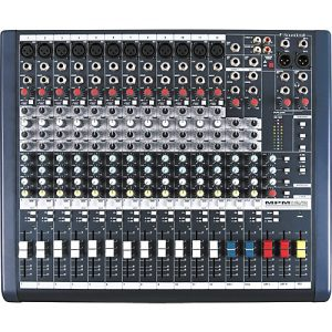 Soundcraft MPM 12 - Mixer Análogo