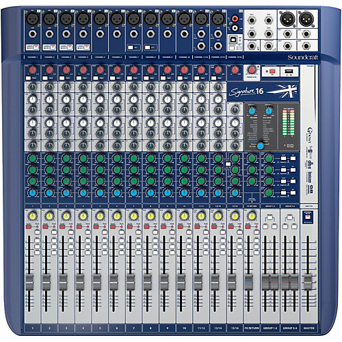 Soundcraft Signature 16 – Mixer Análogo 1