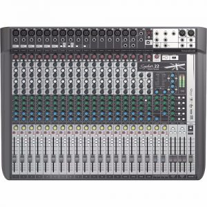 Soundcraft Signature 22 MTK- Mixer Análogo