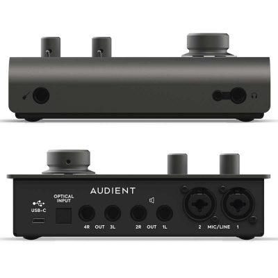 Audient-iD14-MKII-Interfaz-de-Audio-Premium-Front-Back-Planet-Music-Beatnik-Chile-1200×1200