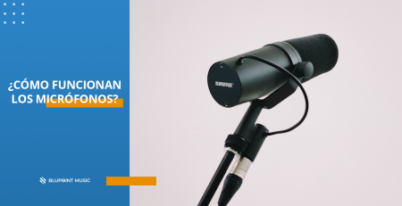 ¿Cómo funcionan los micrófonos?