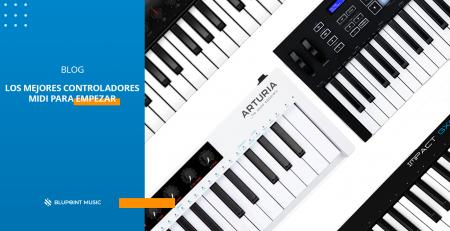 Los mejores controladores MIDI para empezar